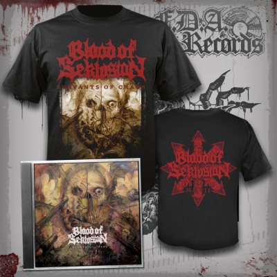 BLOOD OF SEKLUSION - Servants Of Chaos - CD + T-SHIRT bundle