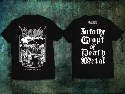 INVICTUS - The Catacombs of Fear - CD+T-SHIRT bundle  (Release 24.01.2020)