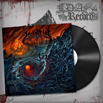 MORFIN - Consumed By Evil - LP (BLACK vinyl)+DOWNLOAD