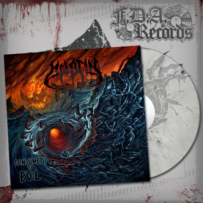 MORFIN - Consumed By Evil - LP (ltd.CLEAR/BLACK marbled vinyl)+DOWNLOAD