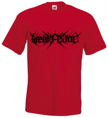 WEAK ASIDE - Logo - T-SHIRT (red)