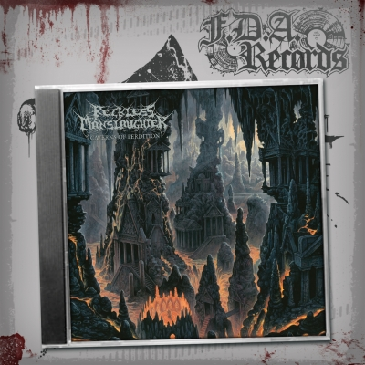 RECKLESS MANSLAUGHTER - Caverns Of Perdition - CD