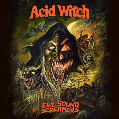 ACID WITCH - Evil Sound Screamers - CD