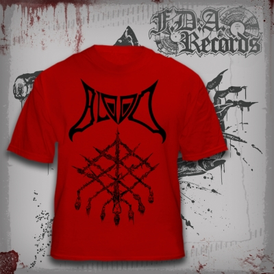 BLOOD - Grid Of Death - T-SHIRT (red)