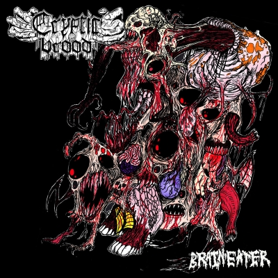 CRYPTIC BROOD - Brain Eater - CD