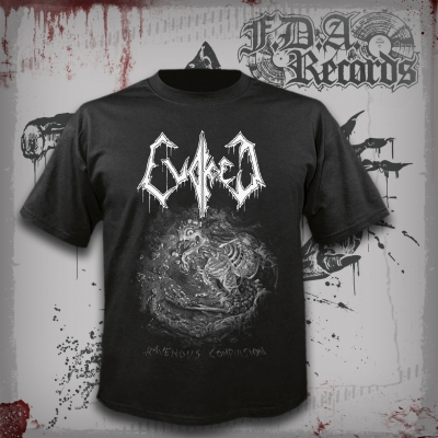 EVOKED - Ravenous Compulsion - T-SHIRT (27/09/2019)