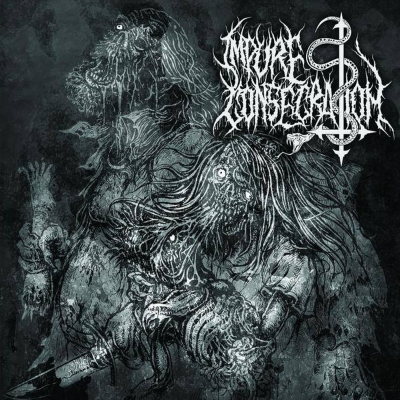 "IMPURE CONSECRATION - Succumb To Impurity Fire - 7""EP"