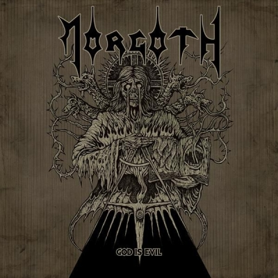 "MORGOTH - God Is Evil - 7""EP"