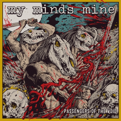 MY MINDS MINE - Passangers Of The Void - CD