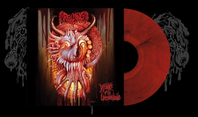 REVOLTING - Visages Of The Unspeakable - LP (RED/BLACK vinyl ltd. 200)
