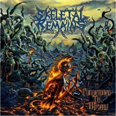 SKELETAL REMAINS - Condemned To Misery - CD
