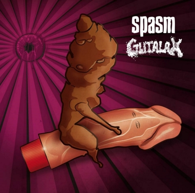 SPASM / GUTALAX - split CD