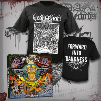 WEAK ASIDE - Forward Into Darkness - CD ltd. DIGIPAK (500 copies)+T-SHIRT bundle