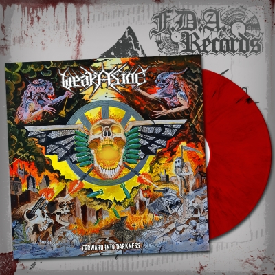 WEAK ASIDE - Forward Into Darkness - LP ltd. 100 copies (red/black vinyl) + Download