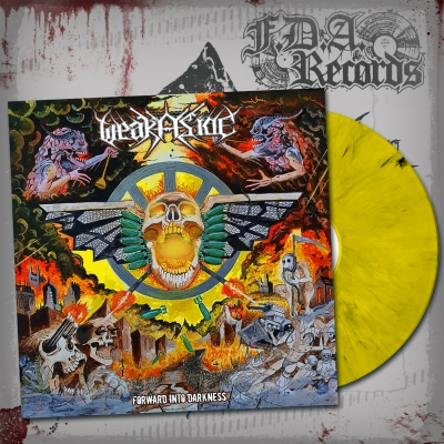 WEAK ASIDE - Forward Into Darkness - LP ltd. 100 copies (yellow/black vinyl) + Download (28.09.2018)