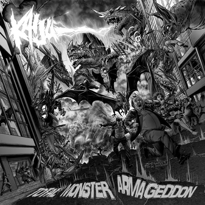 KAIJU - Total Monster Armageddon - CD