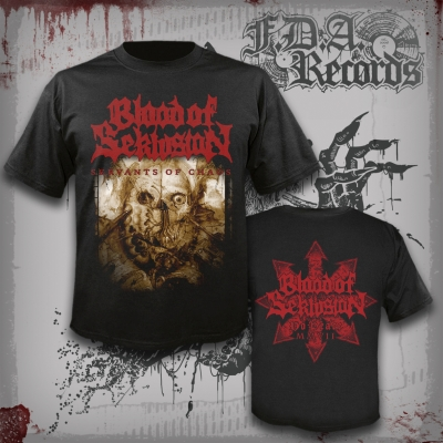BLOOD OF SEKLUSION - Servants Of Chaos - T-SHIRT