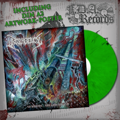 RESURGENCY - No Worlds...Nor Gods Beyond - LP (ltd. GREEN/BLACK marbled vinyl)+DOWNLOAD
