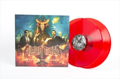 ALPHA TIGER - Beneath the Surface - DLP (red vinyl)