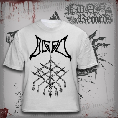 BLOOD - Grid Of Death - T-SHIRT (white)