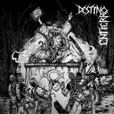 DESTINO/ ENTIERRO - Cryptic ProcessionOf The Yellow Sign - CD