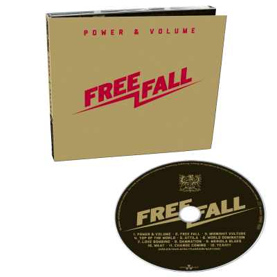 FREE FALL - Power & Volume - ltd. CD Digipak + 2 Bonustracks