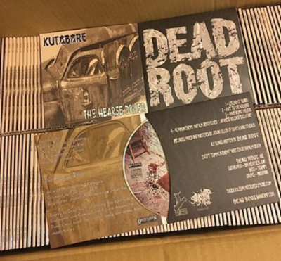 KUTABARE / DEAD ROOT - split CD - Digifile